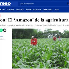 Agrizon: El 'Amazon' de la agricultura